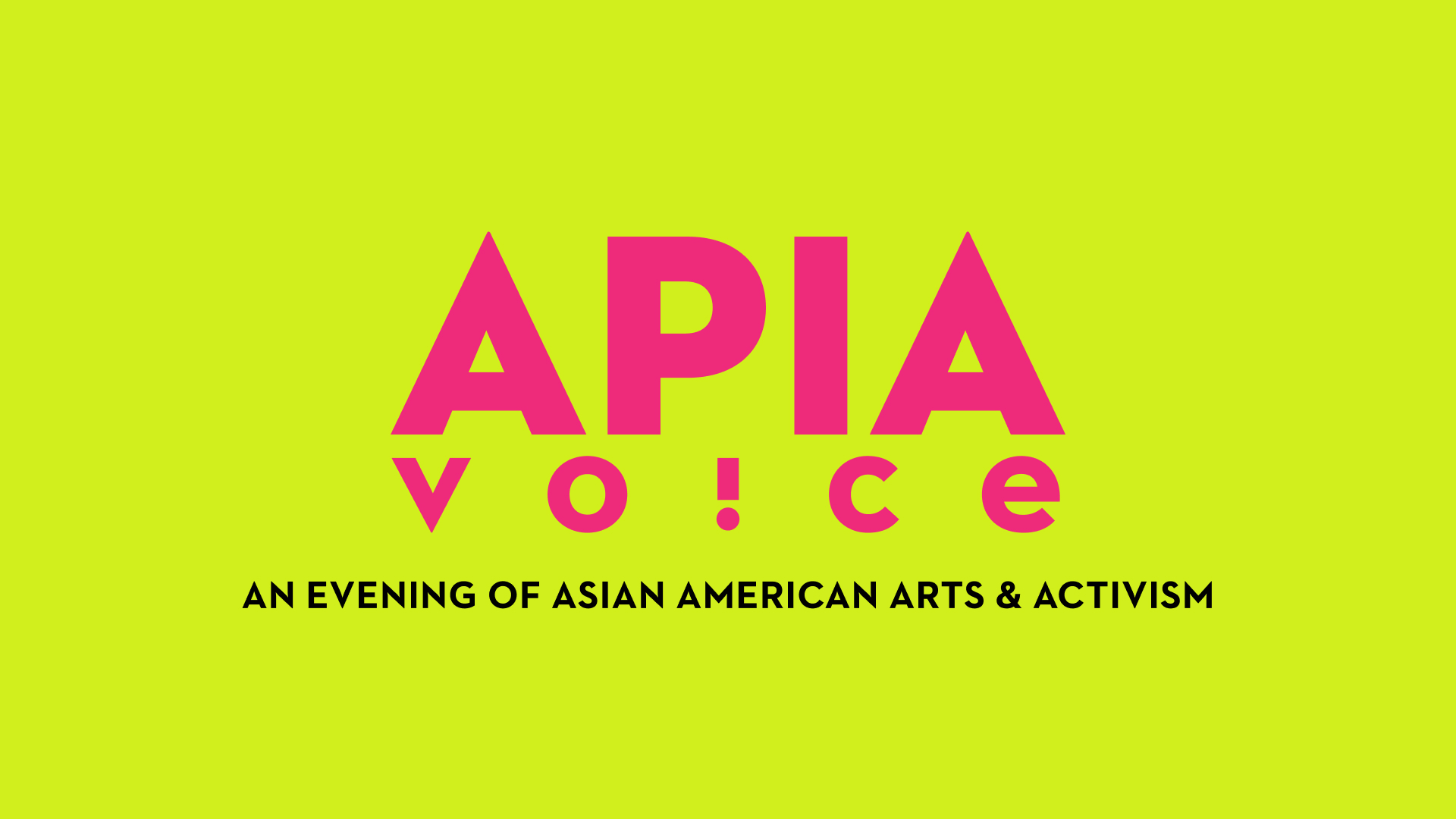 Event: APIA Voice